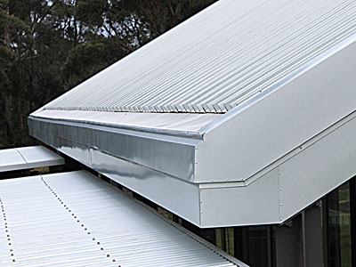 Box guttering detail