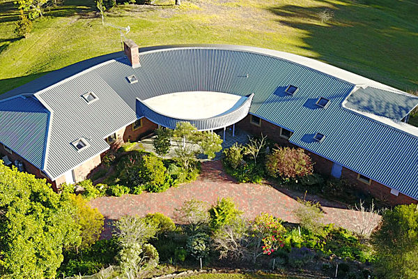 Bermagui house roof project