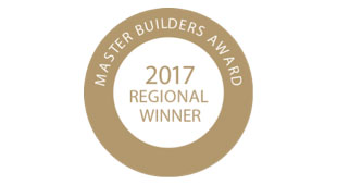Master Builders Australia Awards 2017 Regional Winner