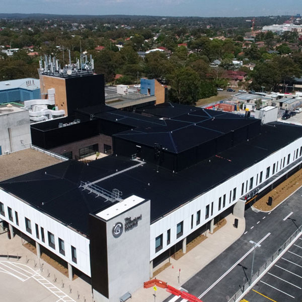 Sutherland Hospital project Richard Crookes Constructions